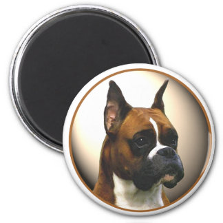 The Boxer Dog Magnet