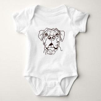 The Boxer Love of My Life Baby Bodysuit
