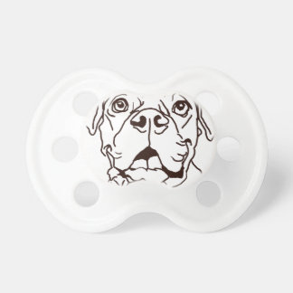 The Boxer Love of My Life Baby Pacifiers