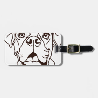 The Boxer Love of My Life Luggage Tag