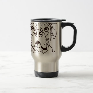 The Boxer Love of My Life Travel Mug