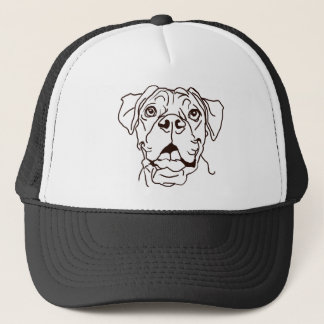 The Boxer Love of My Life Trucker Hat