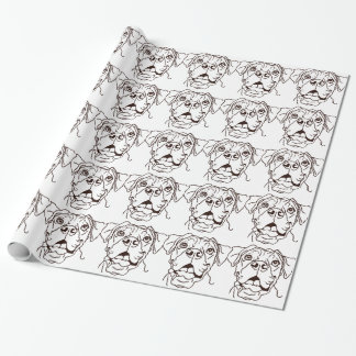 The Boxer Love of My Life Wrapping Paper