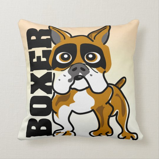 The Boxer Pillow