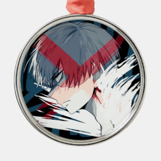 The Boy Born with Everything Metal Ornament