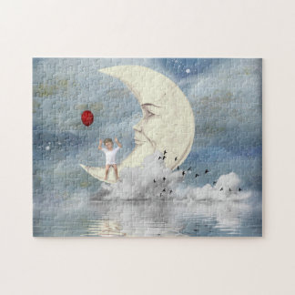 The Boy in the Moon Jigsaw Puzzle