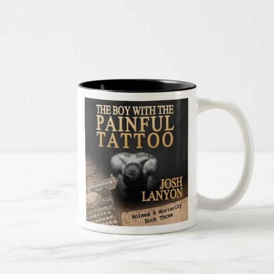 The Boy with the Painful Tattoo mug