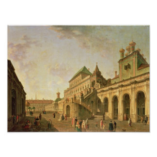 The Boyar's Ground in the Moscow Kremlin, 1801 Poster