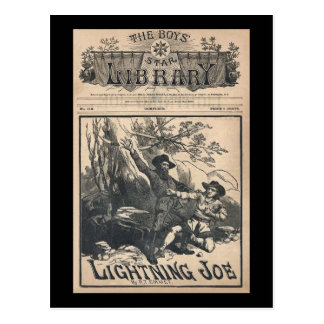 The Boys Star Library  No. 188 Lightning Joe Postcard