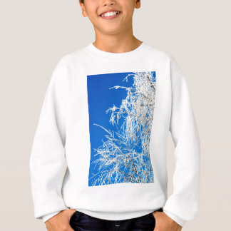 The branches of the tree during the winter sweatshirt