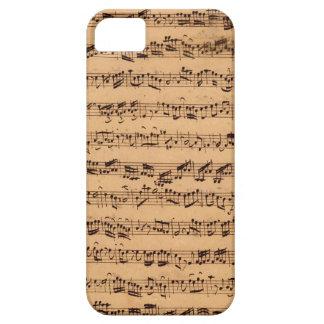 The Brandenburger Concertos No 5 iPhone 5 Cover