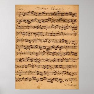 The Brandenburger Concertos, No.5 D-Dur, 1721 Poster