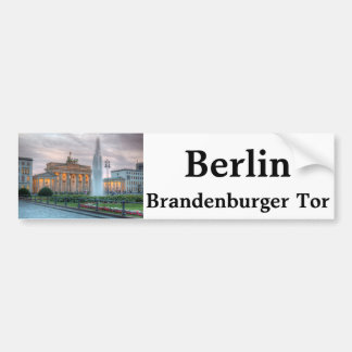 The Brandenburger Tor in Berlin Bumper Sticker
