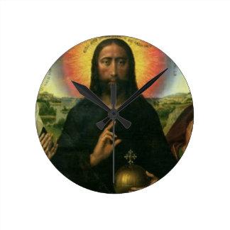 The Braque Family Triptych: (LtoR) St. John the Ba Wallclock
