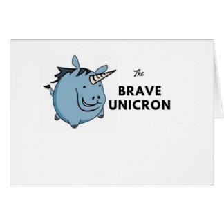 The Brave Unicorn Card