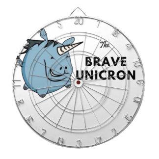 The Brave Unicorn Dartboard