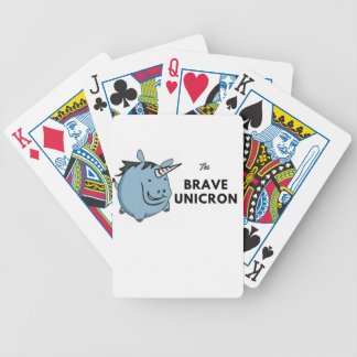 The Brave Unicorn Latest Bicycle Playing Cards