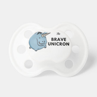 The Brave Unicorn Latest Pacifier