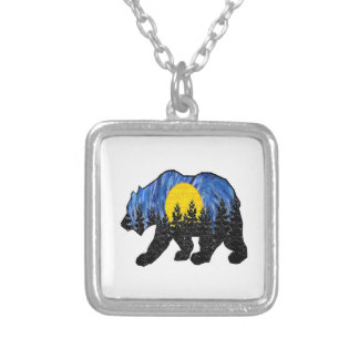 THE BRAVE WORLD SILVER PLATED NECKLACE