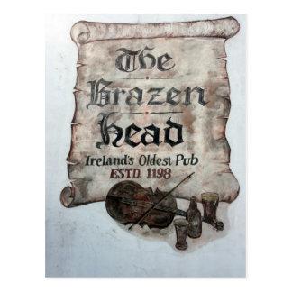 The Brazen Head pub, Dublin, Ireland Postcard