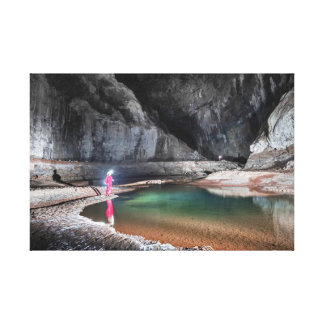 The Brazilian most beautiful caves Canvas Print