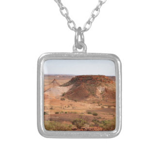 The Breakaways, Outback Australia Silver Plated Necklace