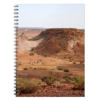 The Breakaways, Outback Australia Spiral Notebook