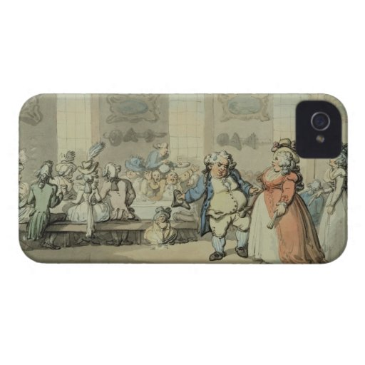 The Breakfast, from 'Scenes at Bath' (w/c & ink an Case-Mate iPhone 4 Cases