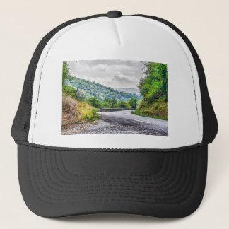 The breath of autumn trucker hat