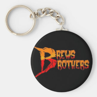 The Brews Brothers 'Logo' Keychain