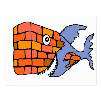 The BrickFish Postcard