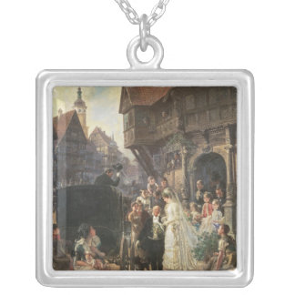 The Bride, 19th century Silver Plated Necklace