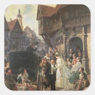 The Bride, 19th century Sticker