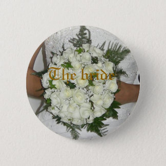 The bride 2 inch round button