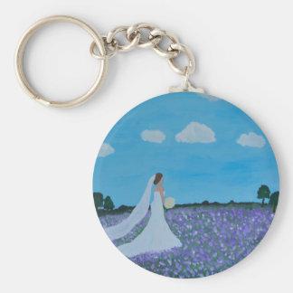 The Bride Basic Round Button Keychain