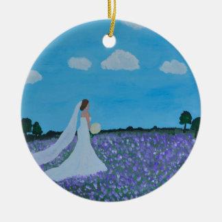 The Bride Ceramic Ornament