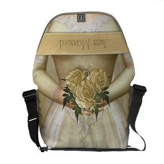 The Bride (ivory) Custom Messenger Bags