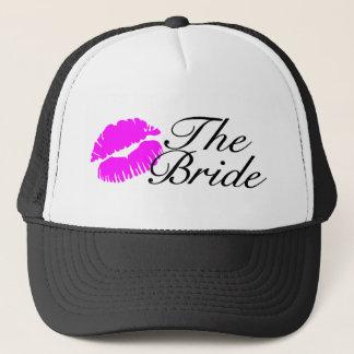 The Bride (Pink Lips) Trucker Hat