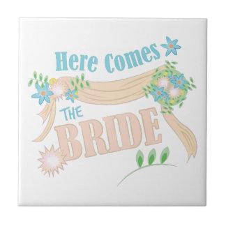 The Bride Tile
