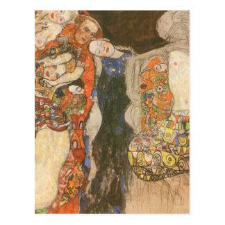 The Bride (unfinished) by Gustav Klimt Postcard