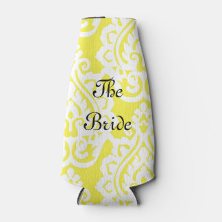 """""""The Bride"""" Yellow and White Patterned Cooler"""