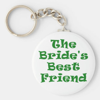 The Brides Best Friend Basic Round Button Keychain