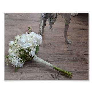 The Bride's Bouquet Fine Art Print