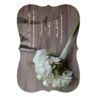 The Bride's Bouquet Wedding Invitation. Card