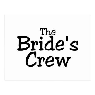 The Brides Crew 2 Postcard