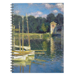 The Bridge at Argenteuil by Claude Monet Notebooks