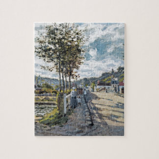 The Bridge at Bougival by Claude Monet Jigsaw Puzzle