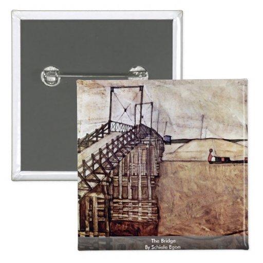 The Bridge By Schiele Egon Buttons