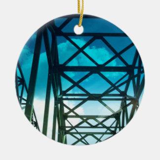 The Bridge Ceramic Ornament