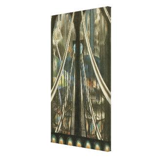 The Bridge, Joseph Stella Stretched Canvas Print